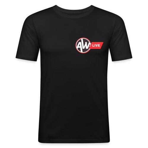 AW LIVE logo 1 - T-shirt près du corps Homme