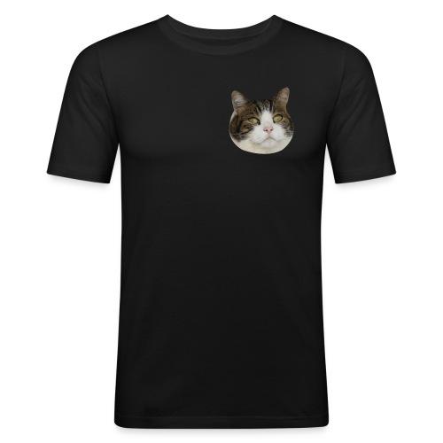 Toby's face design - Men's Slim Fit T-Shirt