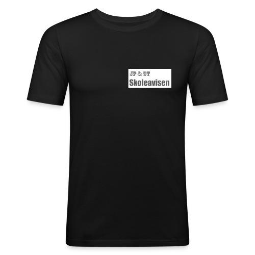 JP_-_OT_Skoleavisen_logo - Slim Fit T-skjorte for menn