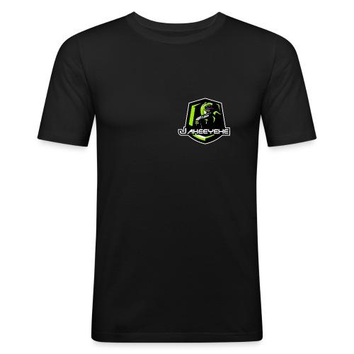 JakeeYeXe Badge - Men's Slim Fit T-Shirt