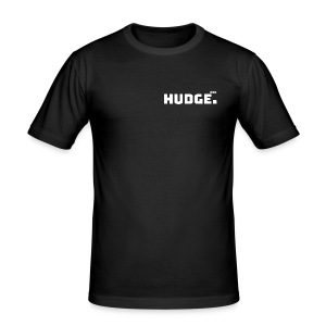 HUDGE PRO WHITE - Männer Slim Fit T-Shirt