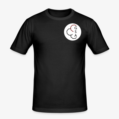 GSA Black - Männer Slim Fit T-Shirt