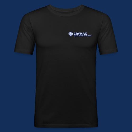 NEON! Never Stop the Game! Skull - Männer Slim Fit T-Shirt