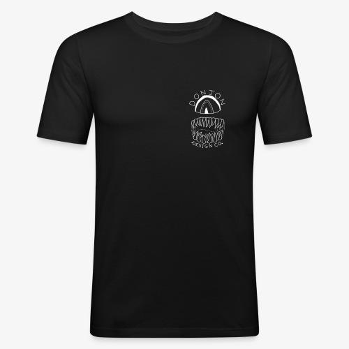 Donjon Cyclops White Print - Men's Slim Fit T-Shirt