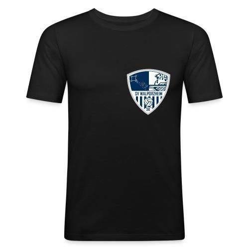 spartaner_walbeze_wappen - Männer Slim Fit T-Shirt