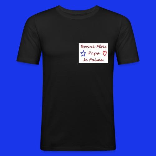 papa - T-shirt près du corps Homme
