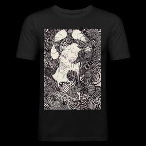 data fusion - Männer Slim Fit T-Shirt