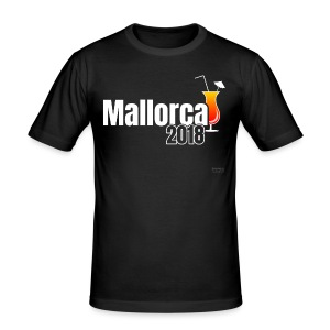 Mallorca 2018 - Das Cocktail Shirt ! - Männer Slim Fit T-Shirt