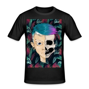 Skullboy - Slim Fit T-skjorte for menn
