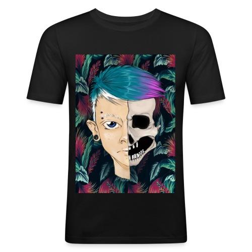 Skullboy - Slim Fit T-skjorte for menn