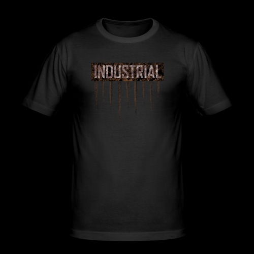 Industrial metal T Shirt - Men's Slim Fit T-Shirt