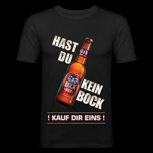 Kein Bock? Kauf Dir eins! - Männer Slim Fit T-Shirt