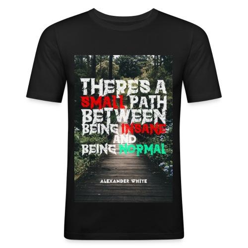 TASPBBIABN - Männer Slim Fit T-Shirt