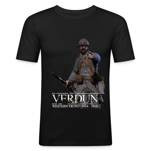 Official Verdun - slim fit T-shirt