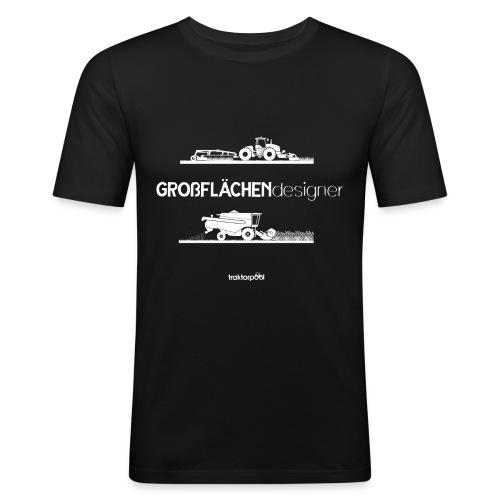 Großflächendesigner - Männer Slim Fit T-Shirt