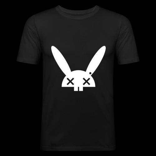 HARE5 LOGO TEE - Men's Slim Fit T-Shirt