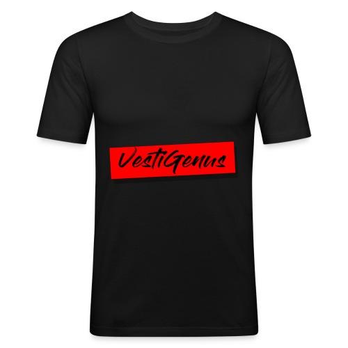 Ceci est le logo de ma marque de Vêtement - T-shirt près du corps Homme