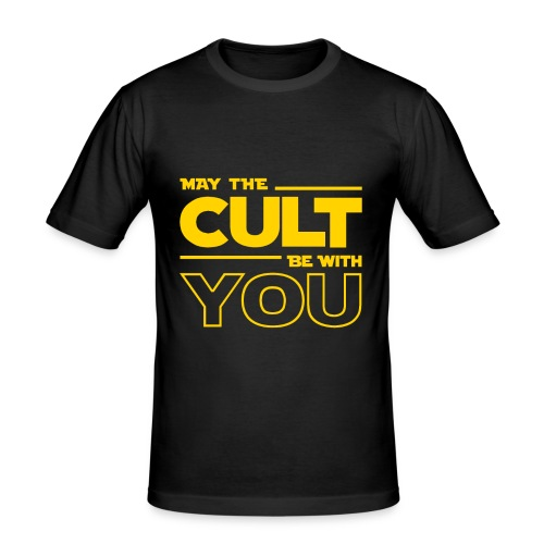 MAY THE CULT BE WITH YOU - Camiseta ajustada hombre