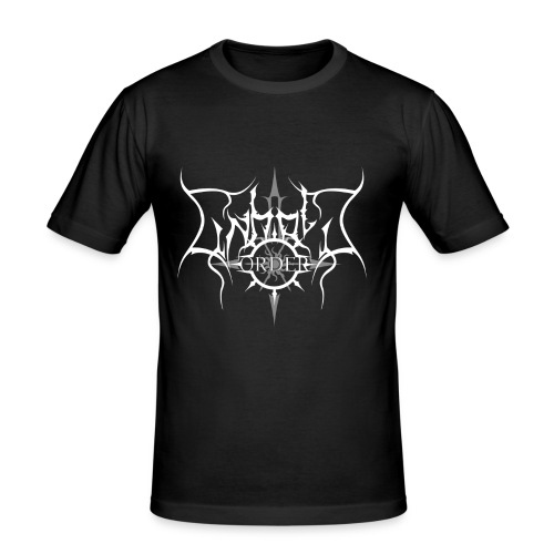 Unholy Order Logo Shirt - Männer Slim Fit T-Shirt