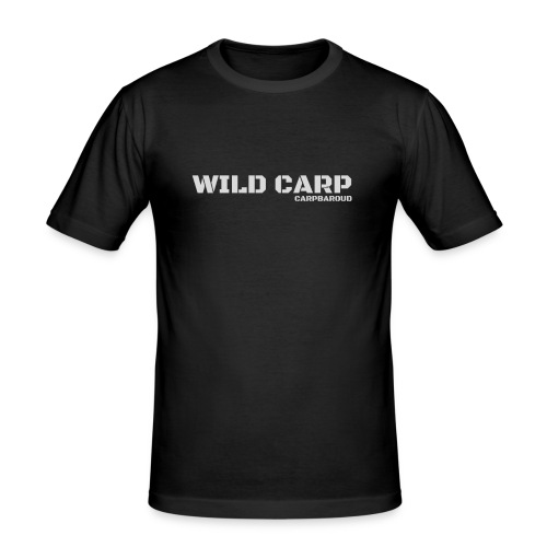 WILD CARP GRIS - T-shirt près du corps Homme