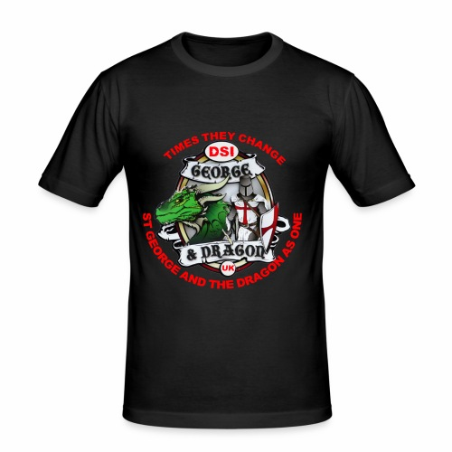 St George Dragon new - Men's Slim Fit T-Shirt