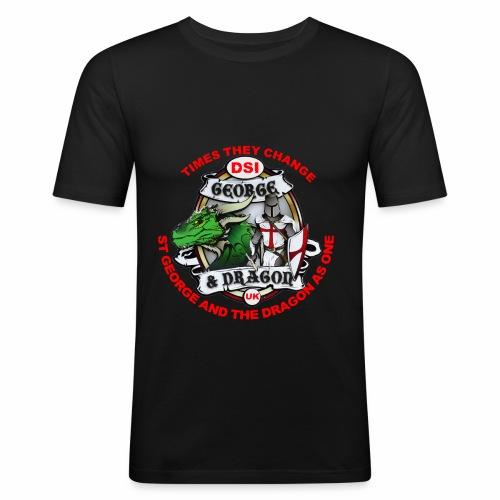 St George Dragon new - Men's Slim Fit T-Shirt