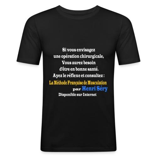 LMF Chirurgie v2 - T-shirt près du corps Homme