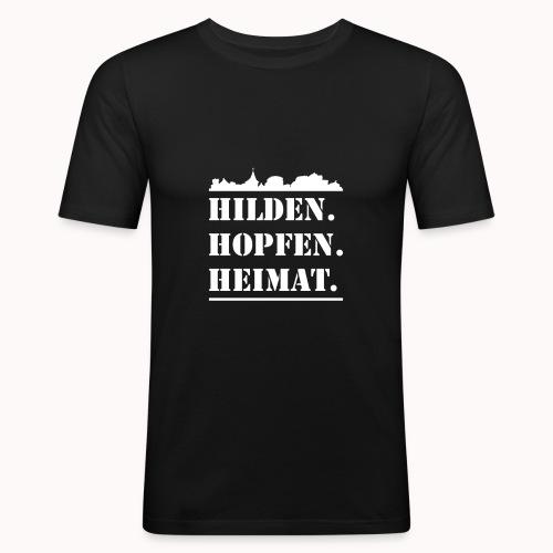 Hilden. Hopfen. Heimat. - Männer Slim Fit T-Shirt