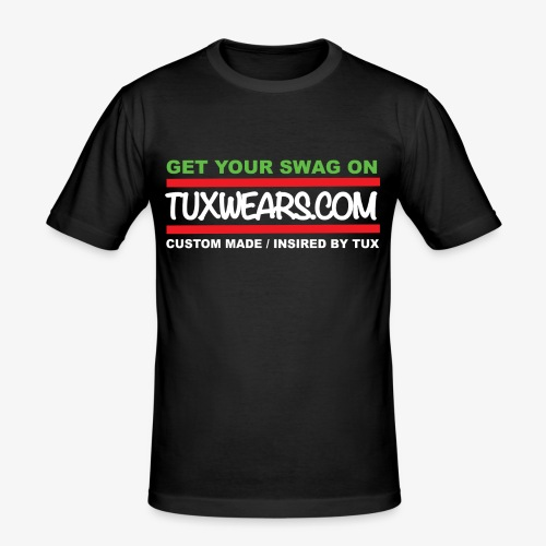 TUXWEARS.COM - Men's Slim Fit T-Shirt
