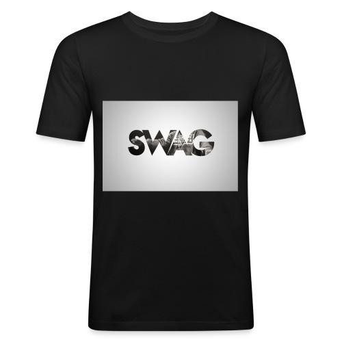 _SWAG CAMS - T-shirt près du corps Homme