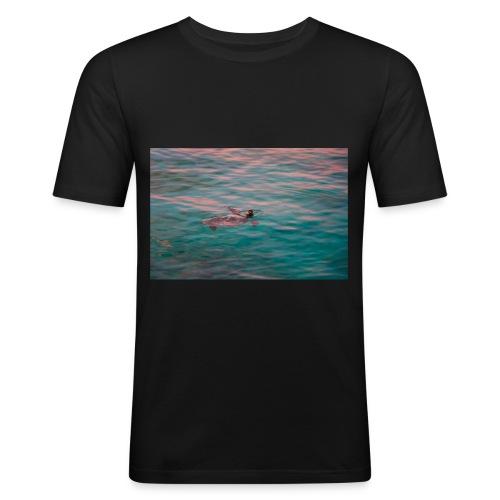 Tortue sauvage - T-shirt près du corps Homme