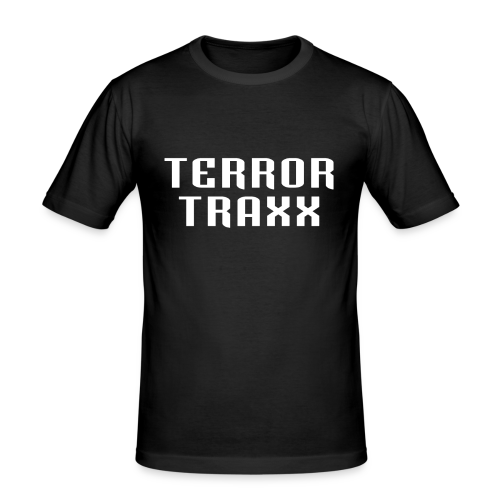 Terror Traxx - Men's Slim Fit T-Shirt