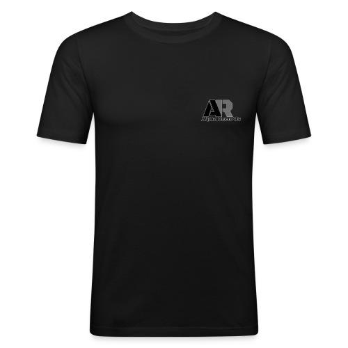 Alpha Records - Männer Slim Fit T-Shirt