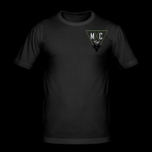 M C Tees NEW Logo on the NEW collection - Men's Slim Fit T-Shirt