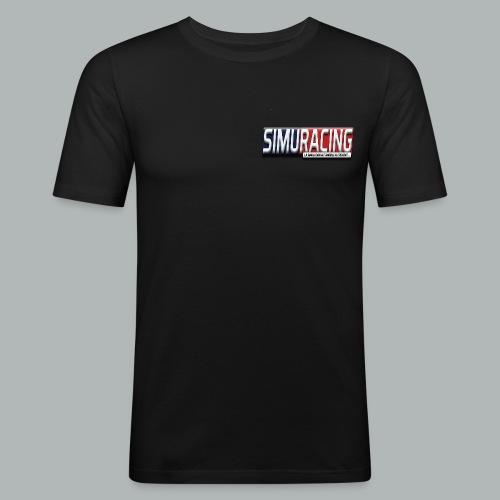 logo Simuracing - T-shirt près du corps Homme