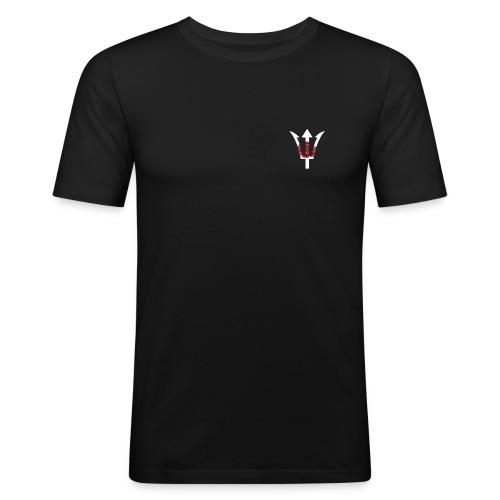 Satico. Logo. - Slim Fit T-shirt herr