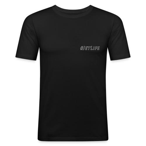 JetLife - Männer Slim Fit T-Shirt