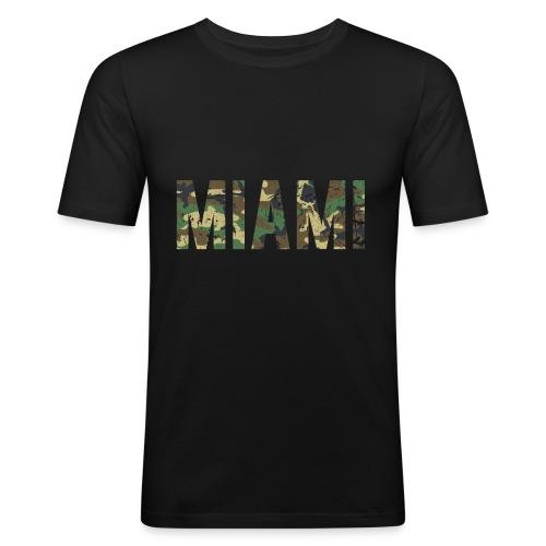Miami - Männer Slim Fit T-Shirt