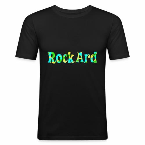 RockArdVibrant - Men's Slim Fit T-Shirt