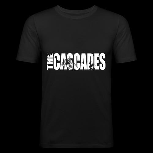 The Cascades Lettering - Men's Slim Fit T-Shirt
