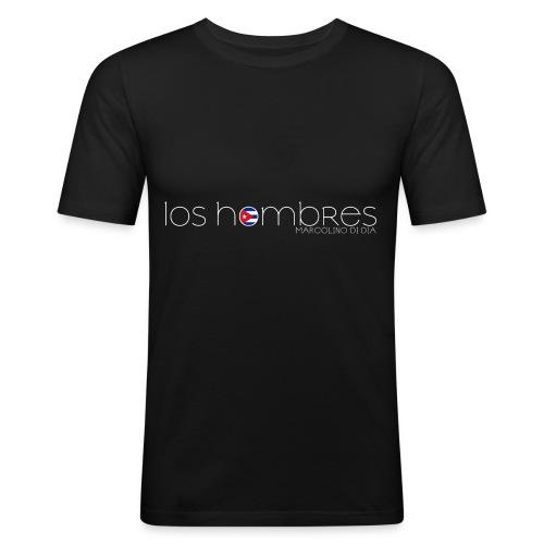 LOS HOMBRES BIANCO - Maglietta aderente da uomo