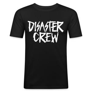 Disaster Crew Logo - slim fit T-shirt