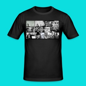 malcolm X - Men's Slim Fit T-Shirt