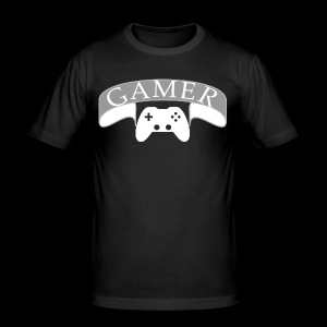 Gamer - Männer Slim Fit T-Shirt