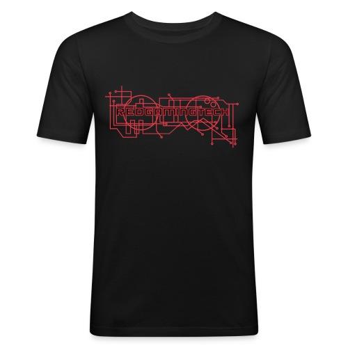 RedGamingTech Logo Shirt - Men's Slim Fit T-Shirt