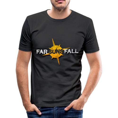 Far Suns Fall Logo - Men's Slim Fit T-Shirt