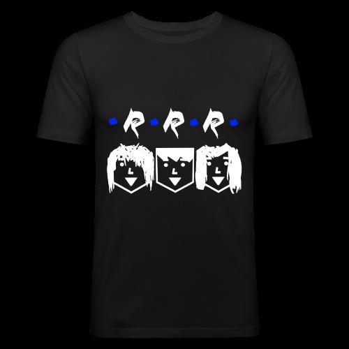 RRR - Heads (Für Schwarze Kleidung) - Männer Slim Fit T-Shirt