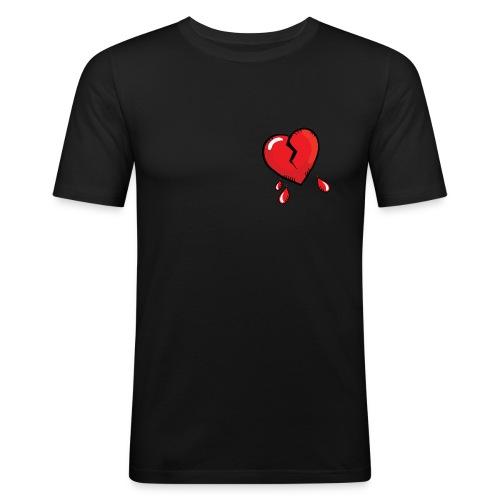 Broken Heart - Men's Slim Fit T-Shirt