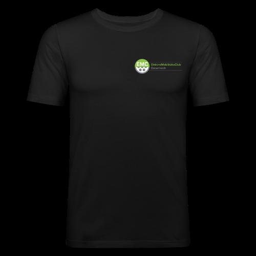 ElektroMobilitätsClub Logo - Männer Slim Fit T-Shirt
