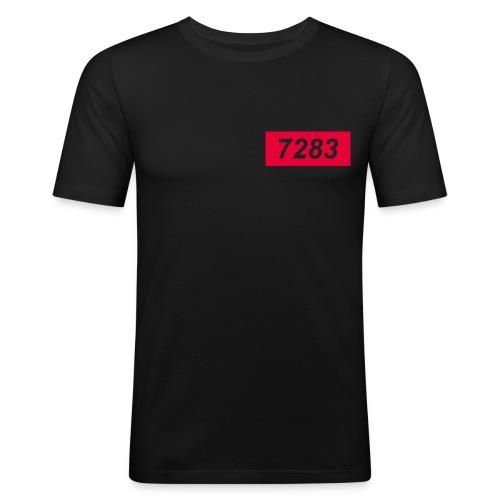 7283-Red - Men's Slim Fit T-Shirt